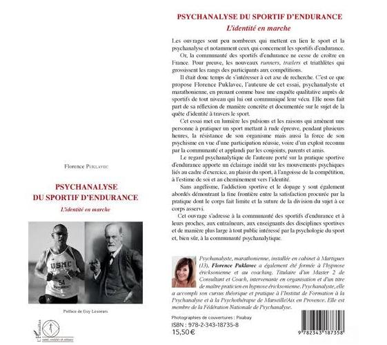 Florence Puklavec - Psychanalyse du sportif d'endurence