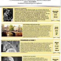 Psychanalyse et Littérature au Théâtre du Tétard (Marseille)